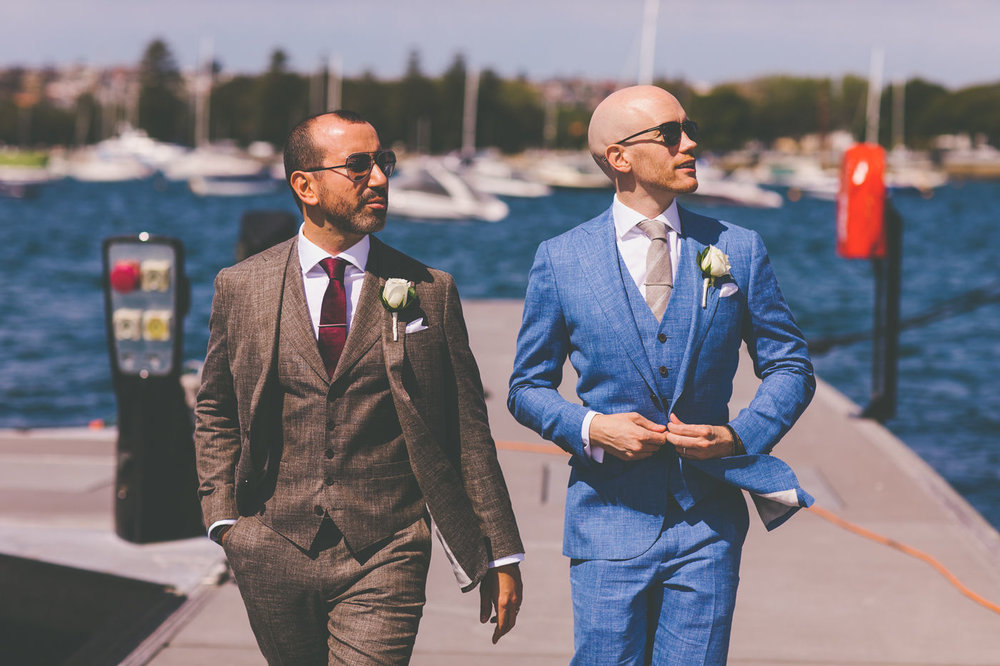 Grooms in Rose Bay