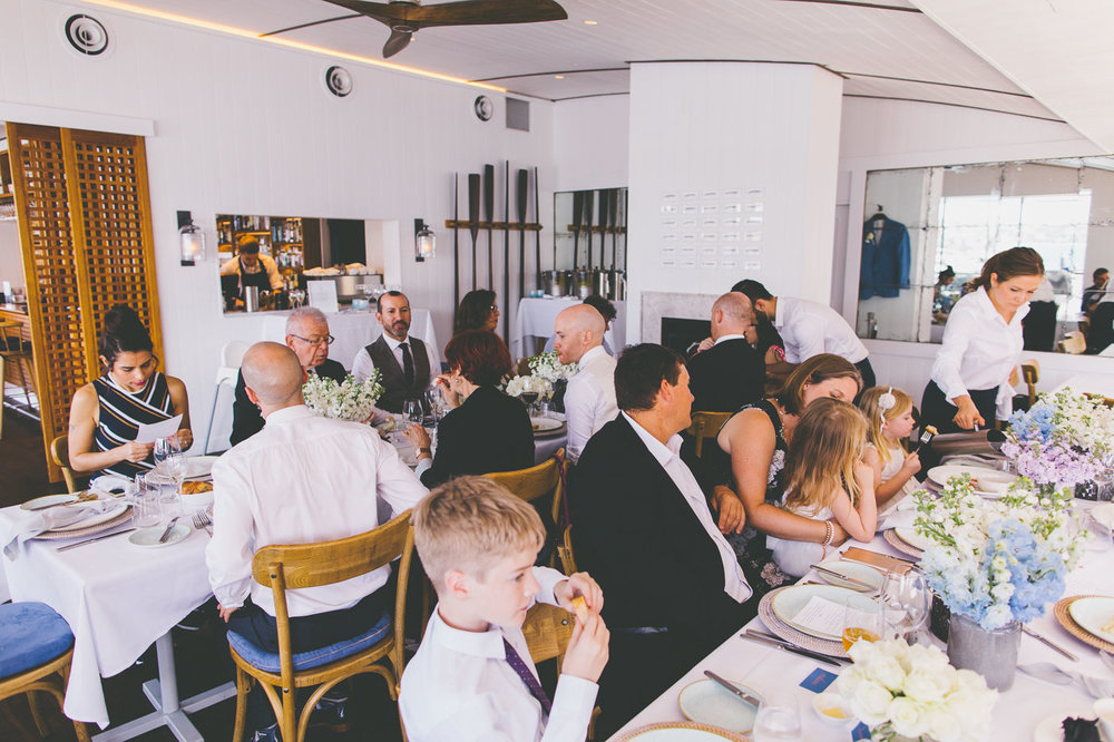 Wedding Tables Regatta Rose Bay