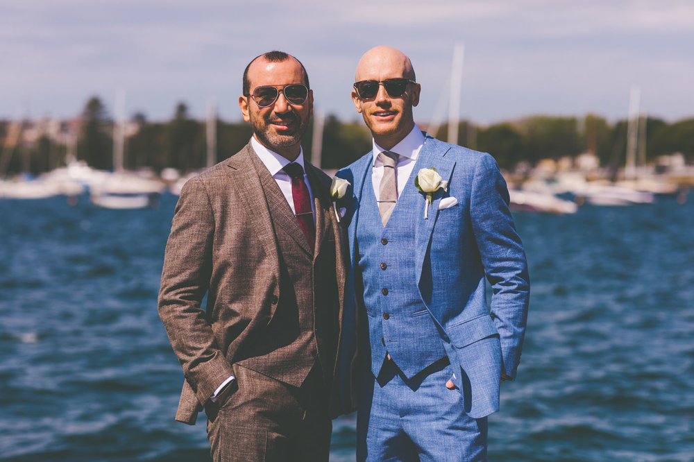Chris and Arda - Royal Botanic Garden and Regatta Rose Bay