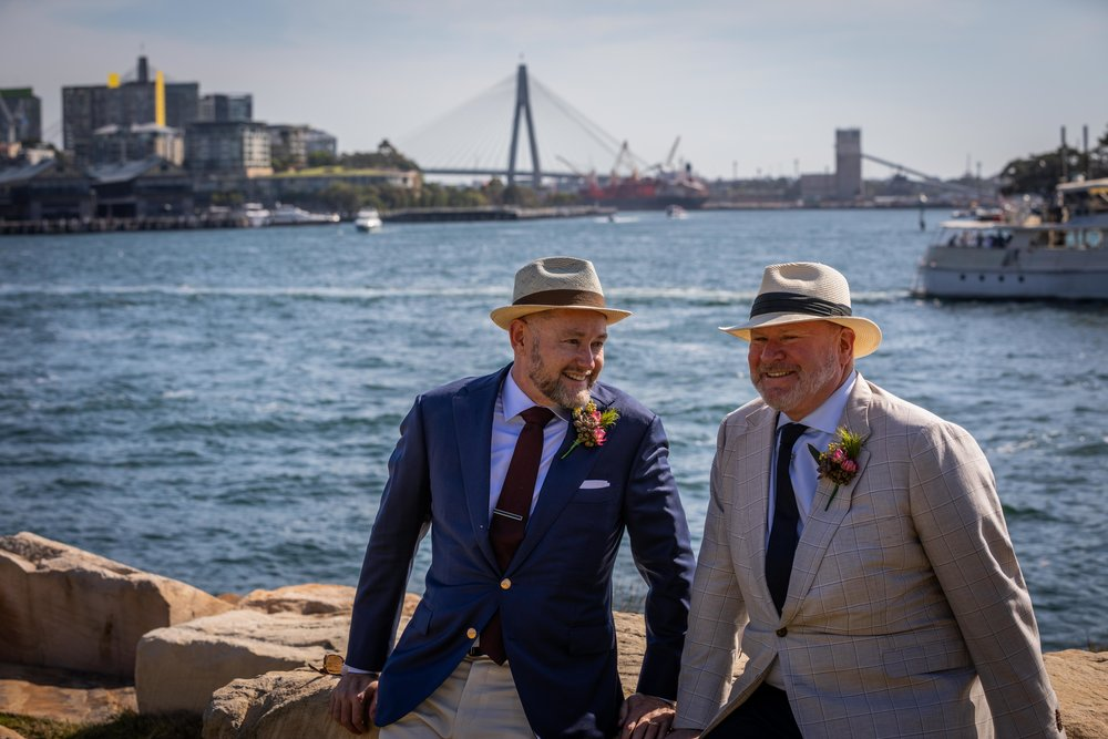 Ed and Paul's Barangaroo Wedding