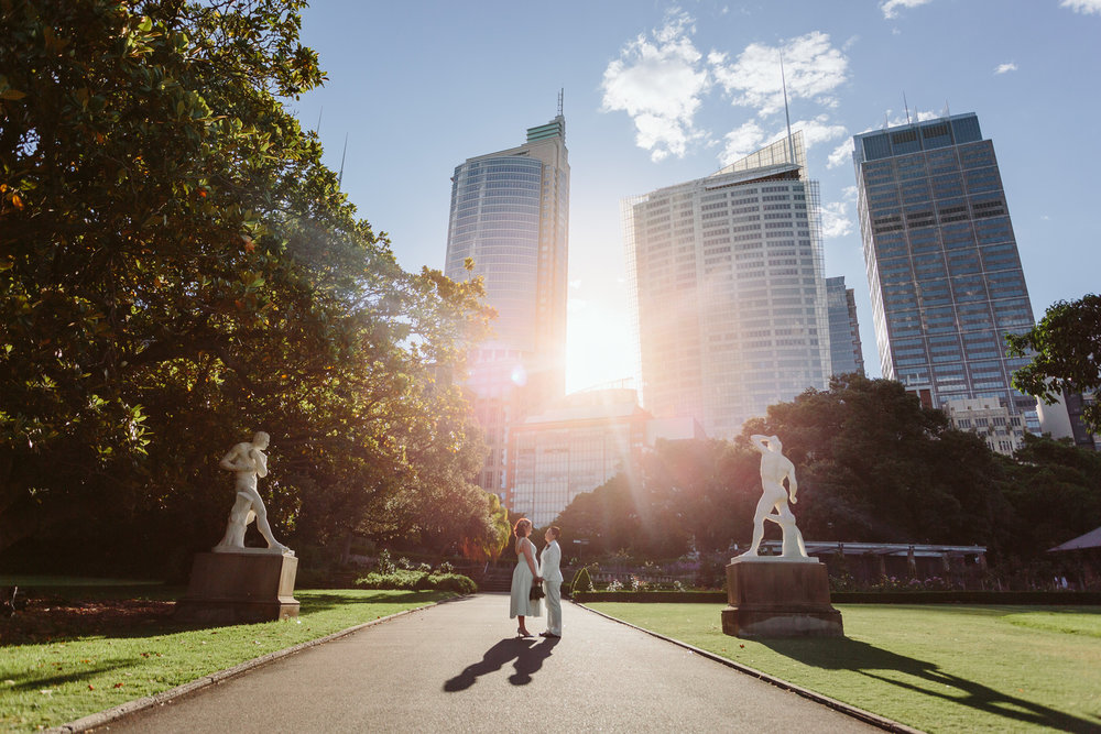 Couple on their wedding day. Gay wedding Sydney. Gay wedding planner.
