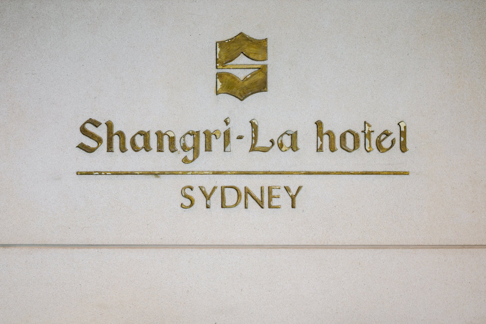 Shangri-La hotel Sydney Wedding