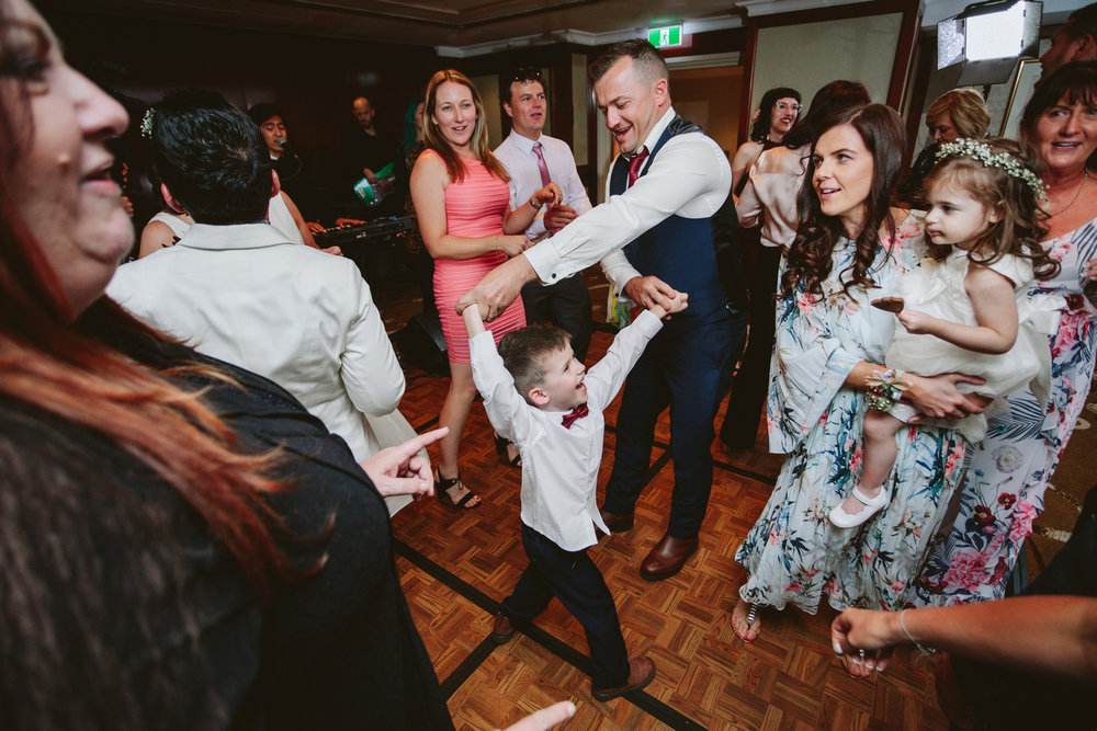 Guests dancing at Shangri-La Sydney