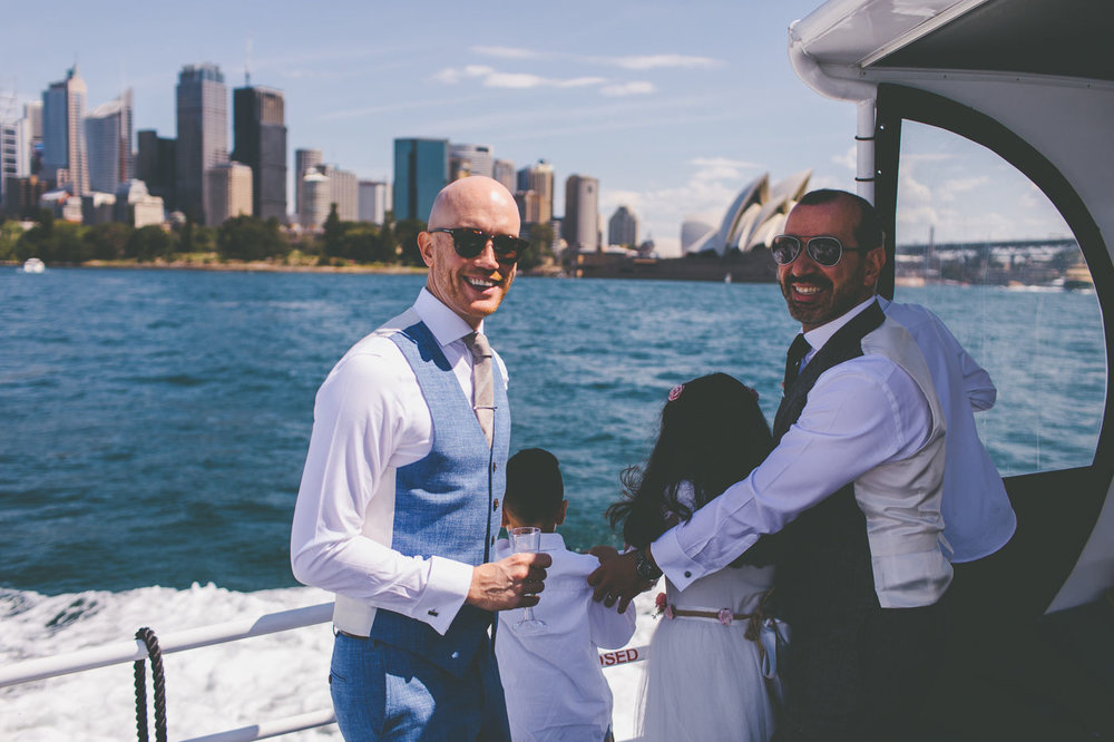 Chris and Arda's Wedding on Sydney Harbour