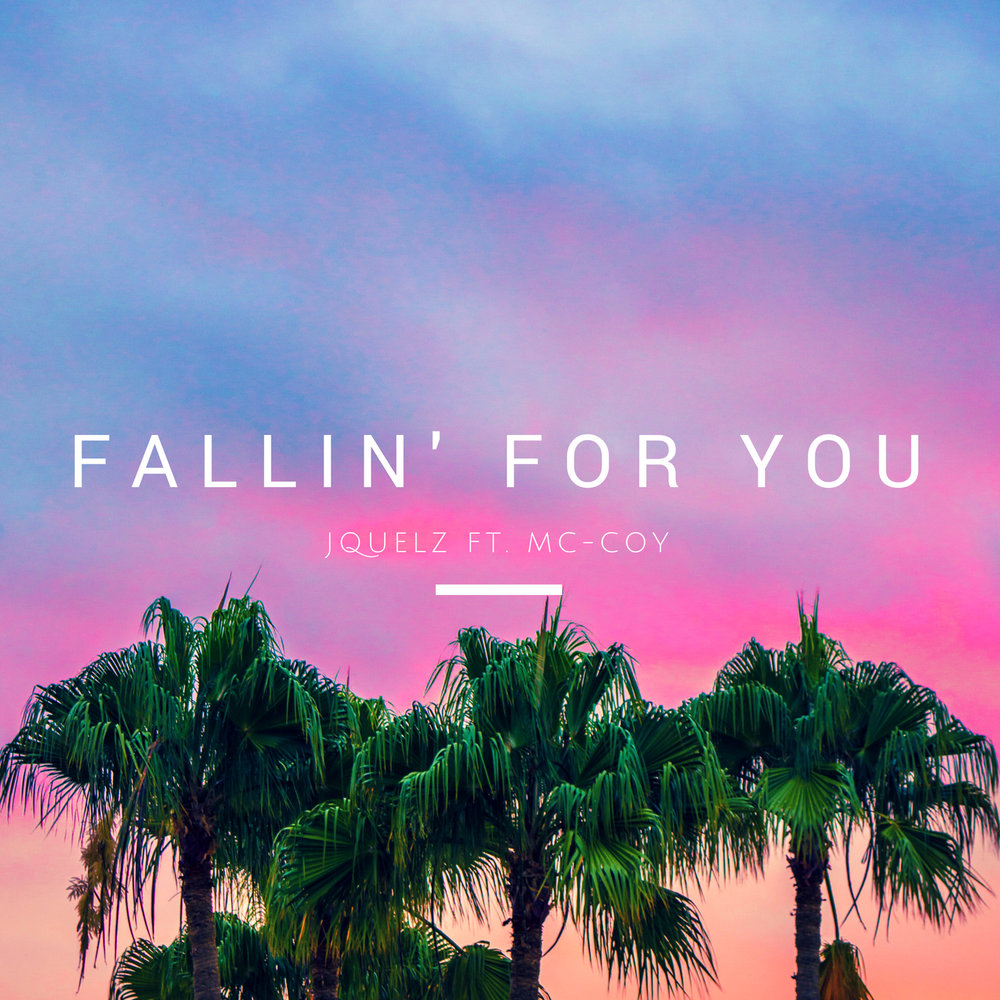 """Fallin' For You"" art work."