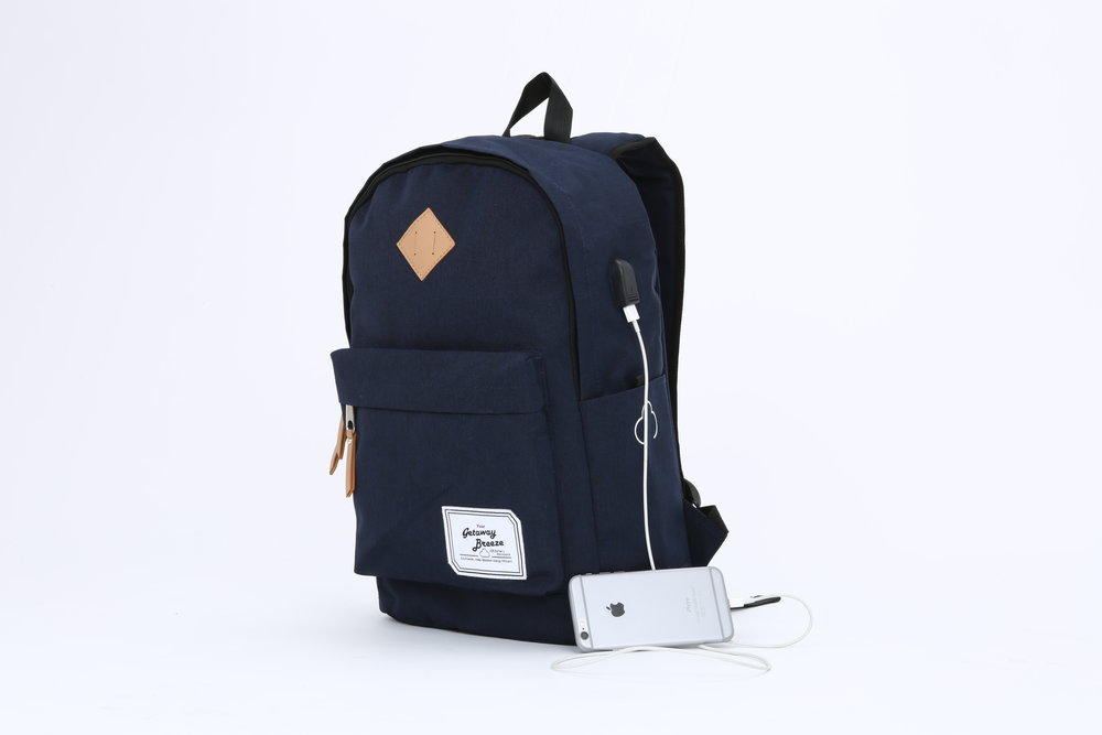 Navy Blue Front View