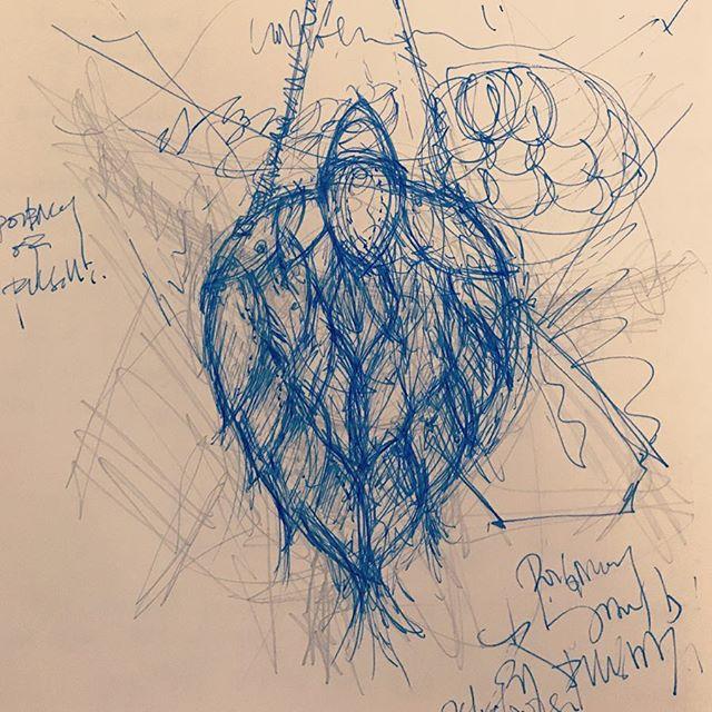 Poignancy of flight 1.0 #bag #drawing #sketch