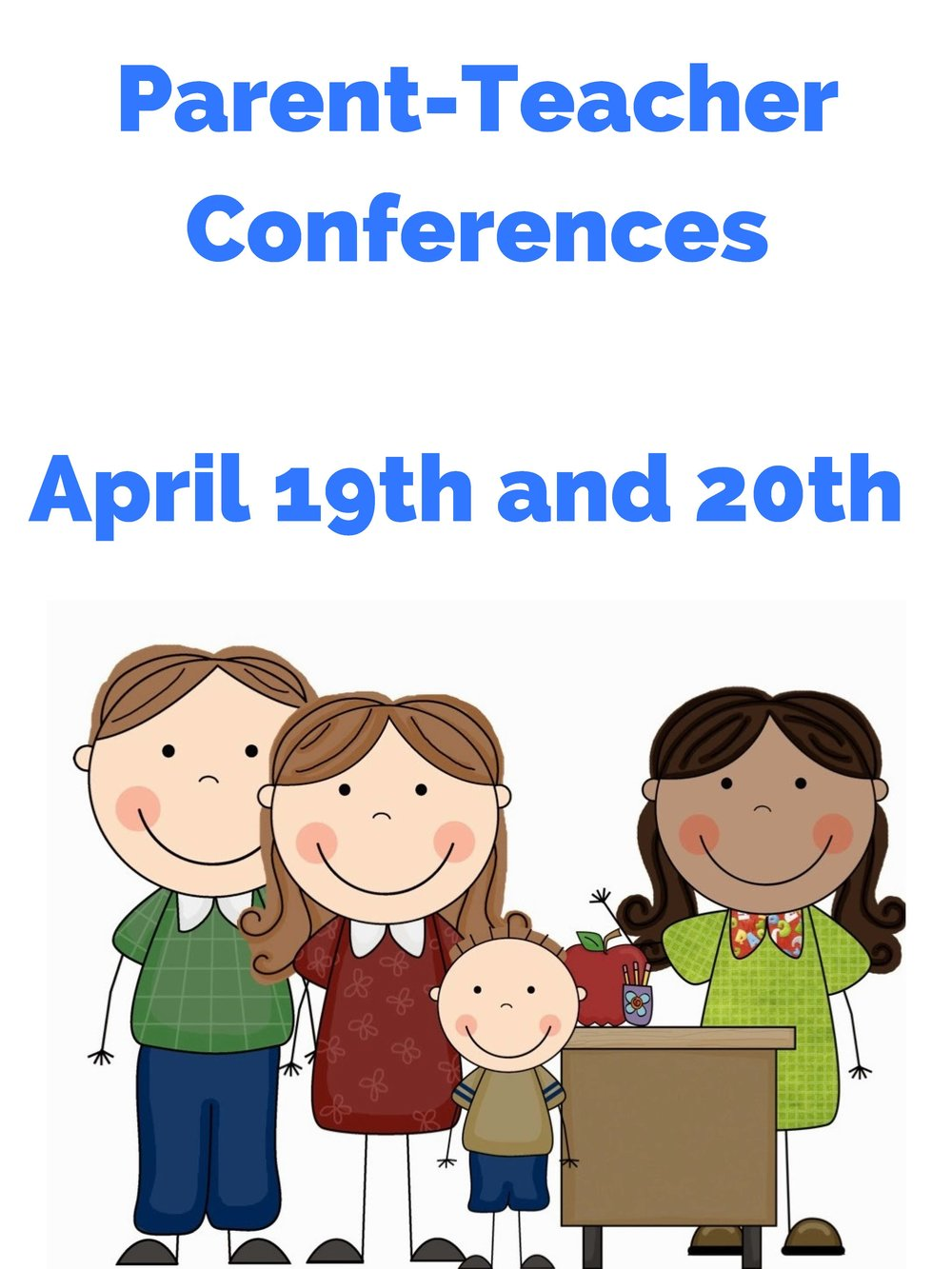 Conference For Parents Saturday April >> Parent Teacher Conferences Bpcp