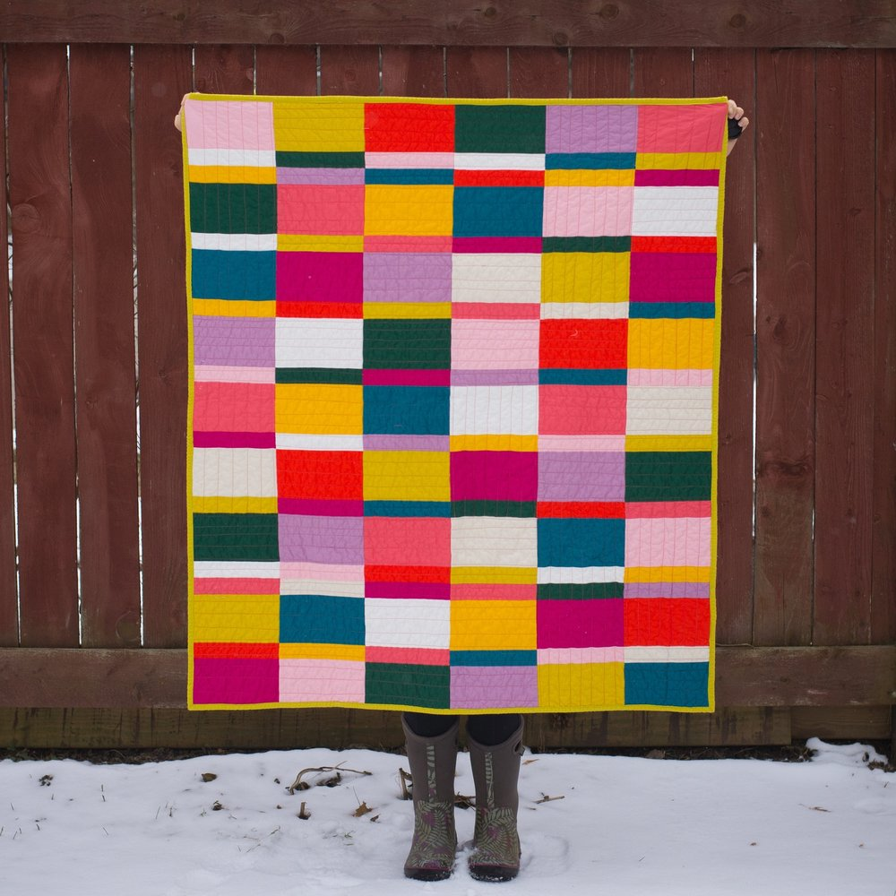 Ain't No Sin To Be Glad You're Alive Quilt