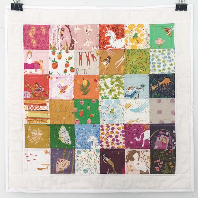 Heather Ross Summer Tourist Mini Quilt