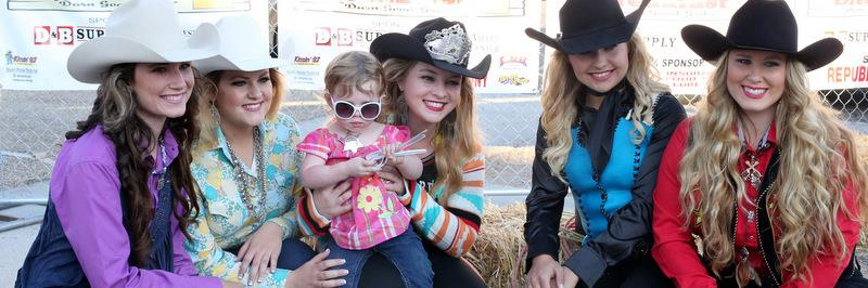 2016 Caldwell Night Rodeo Queen  and Miss Congeniality winner Bonnie Crisci at a pre-rodeo promotional event. Photo courtesy of  Hal Coburn .