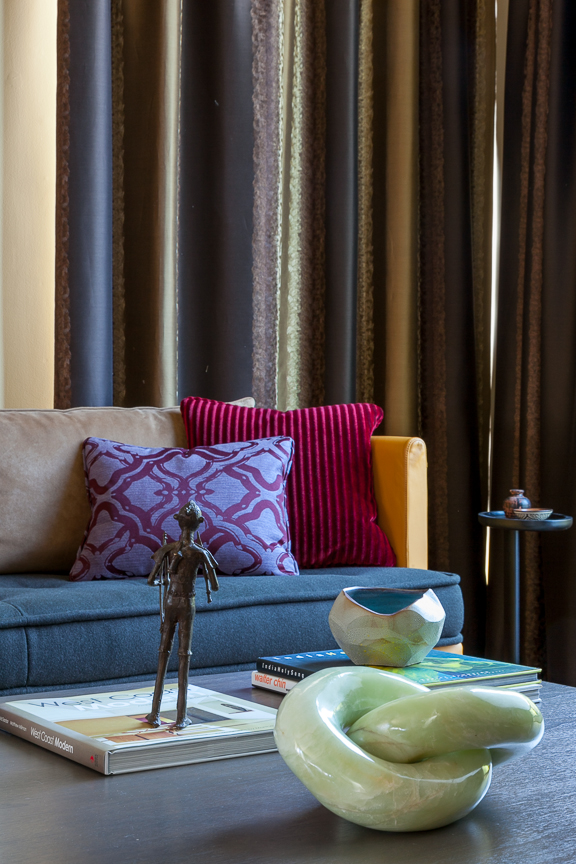 Hillsborough living room details. Jana Magginetti Interior Design