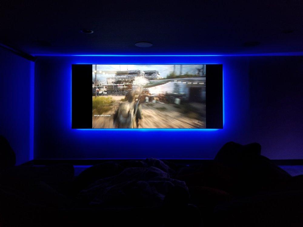 Backlit LED Screen