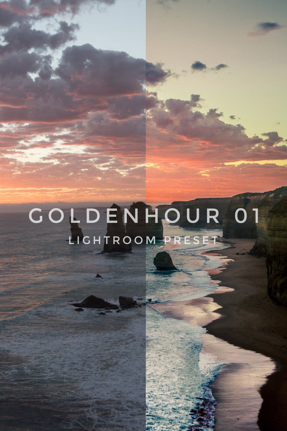 Goldenhour 01 - Inspired by films and movies, the unique color of the sky and mid-tone is the essence to achieve the cinematic look on your photographs.