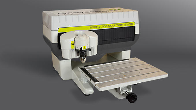 IS400 engraving machine