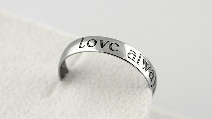 Eternal love engraving