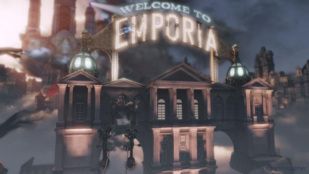 Emporia - Senior Level Designer - Irrational GamesLevel art by: Chad LaClair - John FuhrerMike Snight - Charles Bradbury
