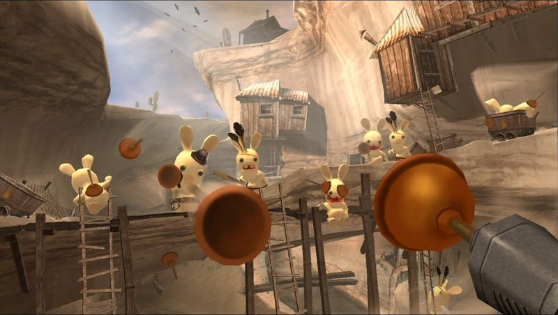 Rayman Raving Rabbids - Level Designer - Ubisoft Montpellier