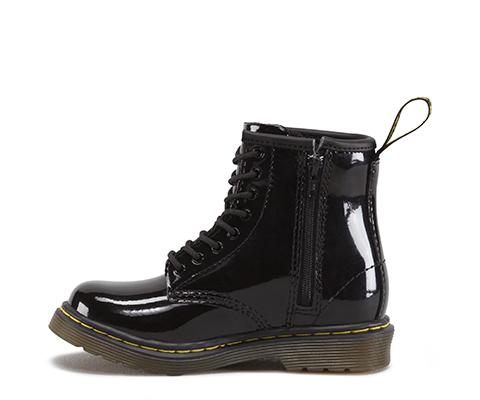 bee9b9e5880 Dr Martens - Brooklee - Black Patent Lamper - 15373003 — M & Michaels  Footwear