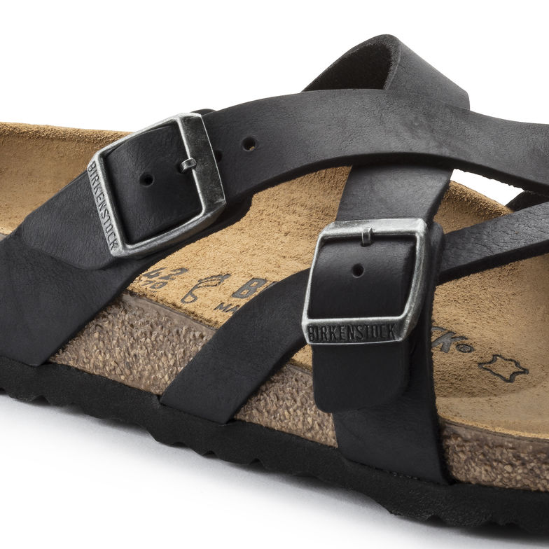 49e9db99886e1f Birkenstock -Temara -Oiled Leather - Camberra Old Tobacco   Camberra Old  Black — M   Michaels Footwear