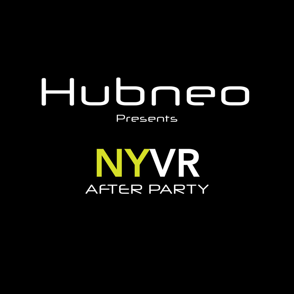 Sept. 21st, 9:00 pm - Midnight. Hubneo VR Lab invites the NYVR meet-up  community to attend an after party. Attendees will have unlimited access to Hubneo's custom built simulator experiences: Full Motion Flight and Racing Simulators, Virtuix Treadmills, and Untethered Room-Scale VR. Tickets and more info