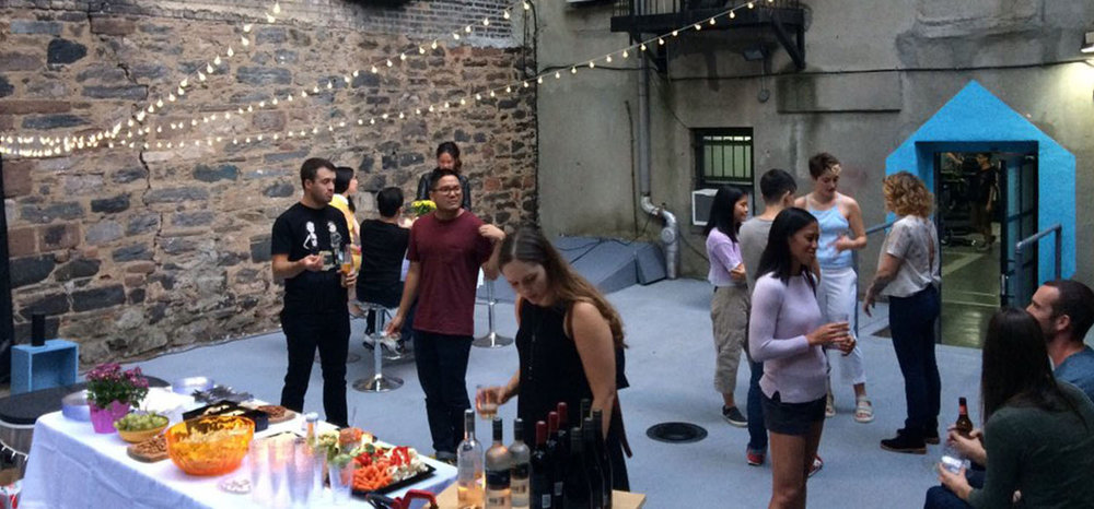 VR Lab Corporate Event  Private Outdoors Space