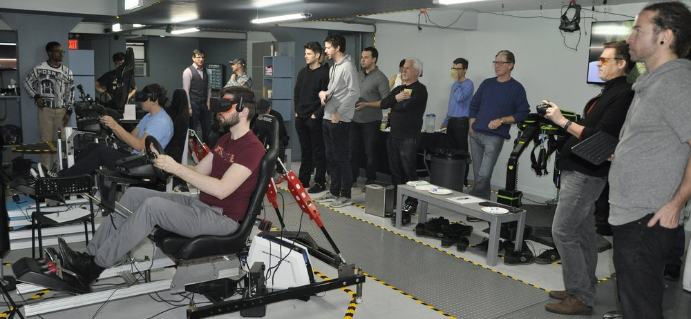 VR Racing Simulator Group Event