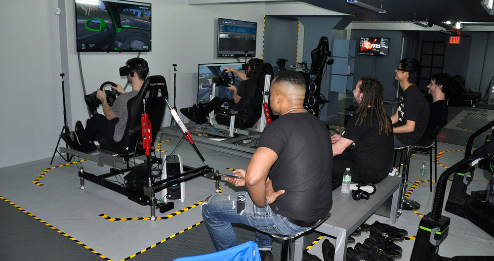 Virtual Reality Racing Center New York