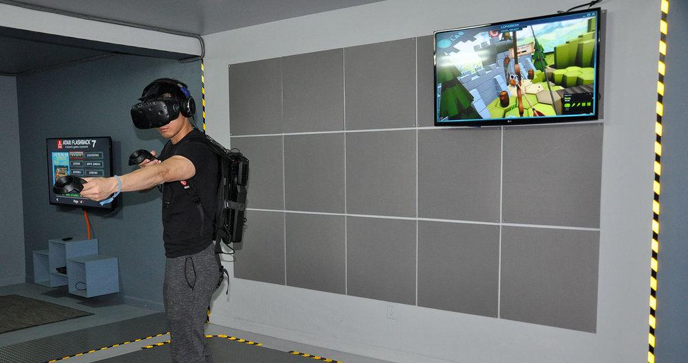 Wireless Virtual Reality Arcade NYC