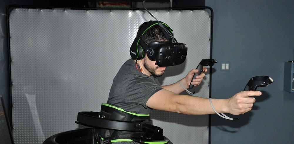 VR Treadmill Center New York