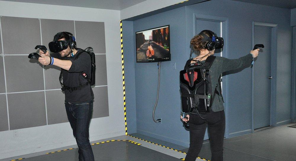 Wireless VR Lab New York City