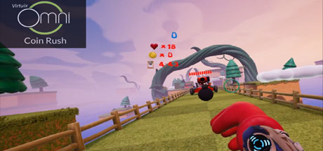 Coin Rush    It will feel like you are playing as everyone's favorite coin collecting plumber! Run through each level punching bombs and enemies while collecting as many coins as possible in this action-packed VR platformer.    Learn More