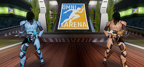 Omni Arena  (Multiplayer Available!)   An arena-style shooter with two game modes: Core Defense (Co-op) and Hardpoint (PvP). Survive waves of robots and defend the Power Cores, or compete against your friends in Hardpoint PvP mode!    Learn More