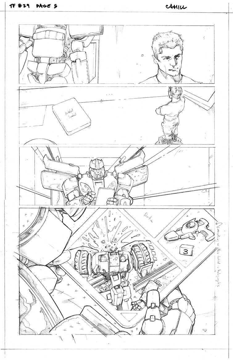 Transformers #29, Page 5<br />$75