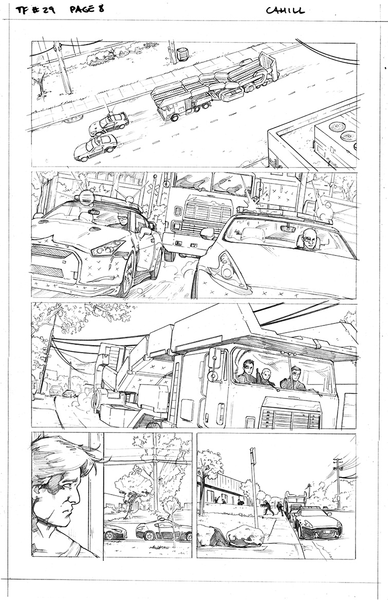 Transformers #29, Page 8<br />$50