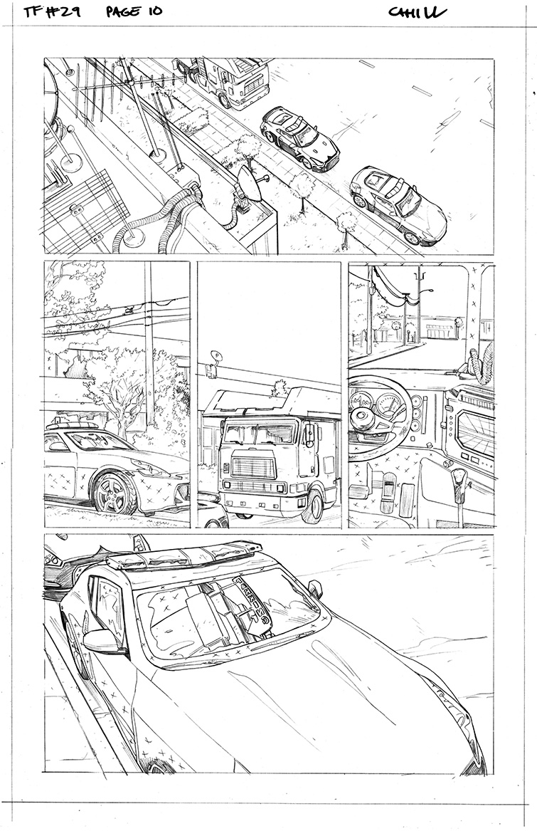 Transformers #29, Page 10<br />$50
