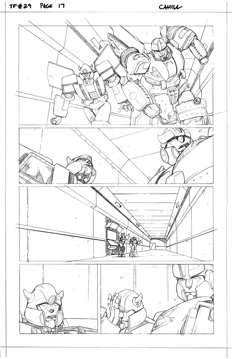 Transformers #29, Page 17<br />$75