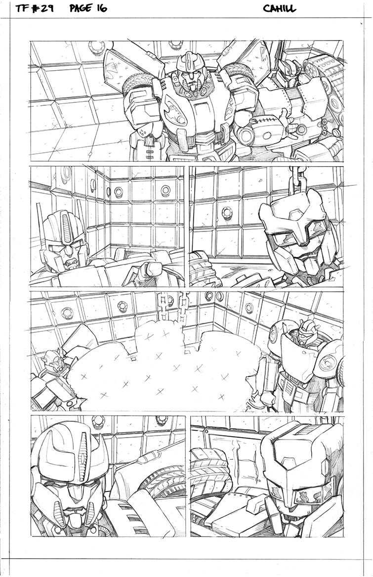 Transformers #29, Page 16<br />$75