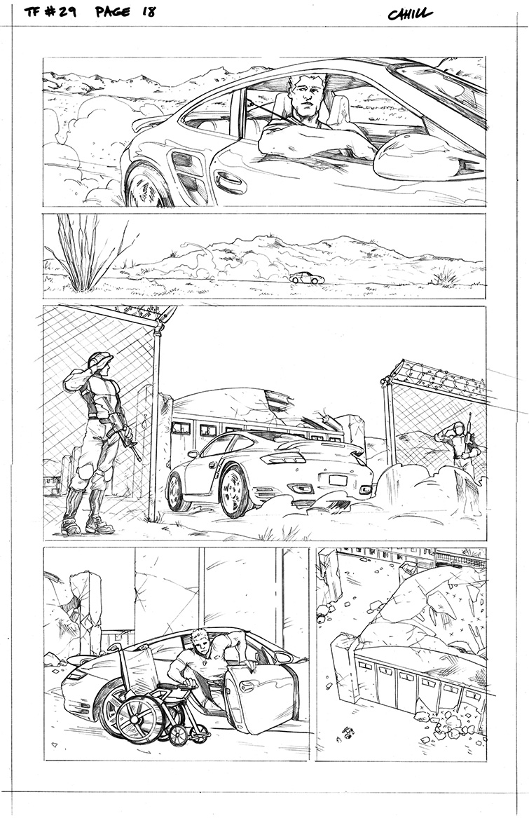 Transformers #29, Page 18<br />$50