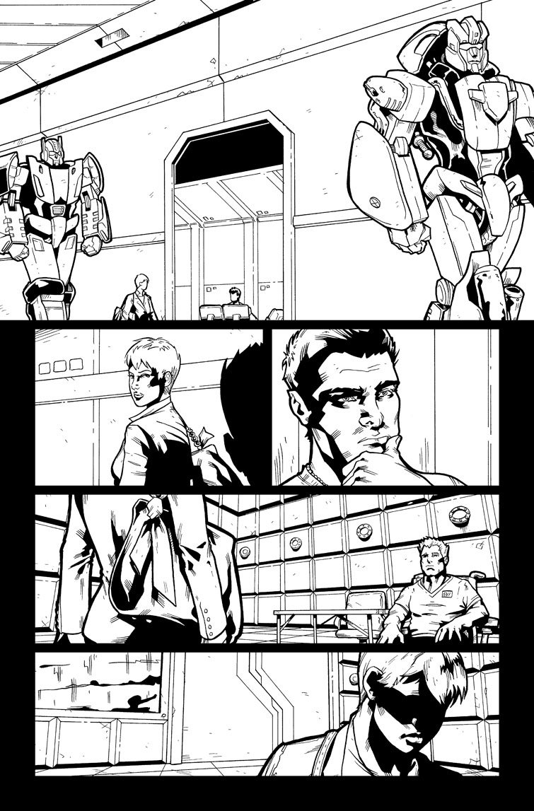Transformers #27, Page 16<br />$50