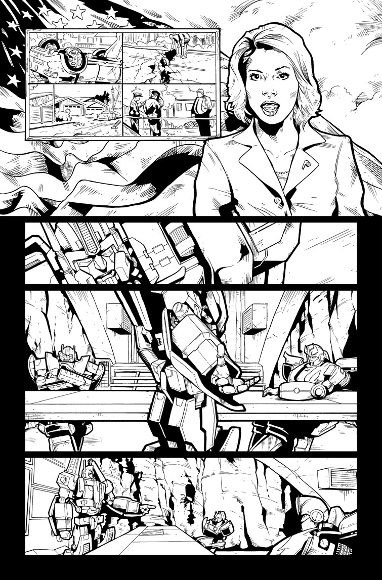 Transformers #25, Page 16<br />$75