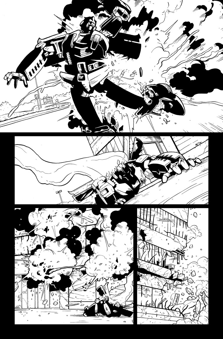Transformers #25, Page 21<br />$75