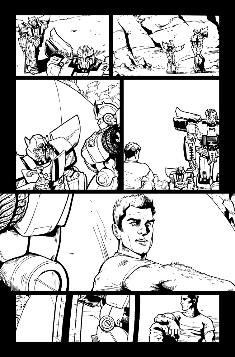 Transformers #21, Page 21<br />$75