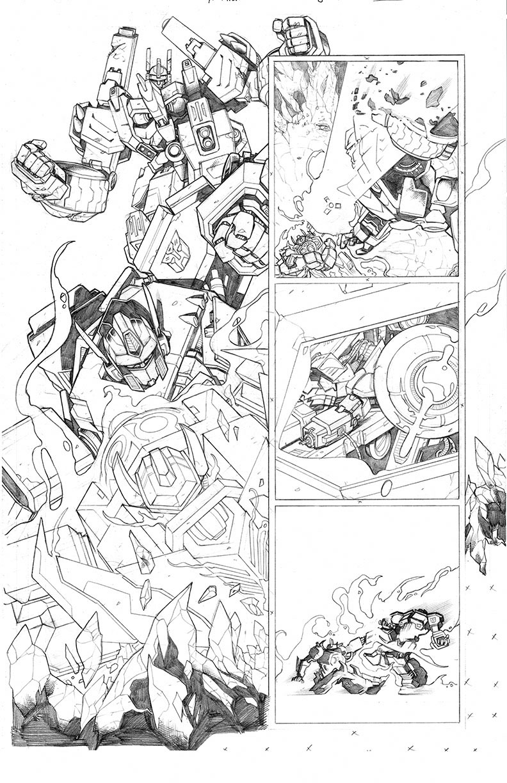 Dark Cybertron #12, Page 6<br />$200