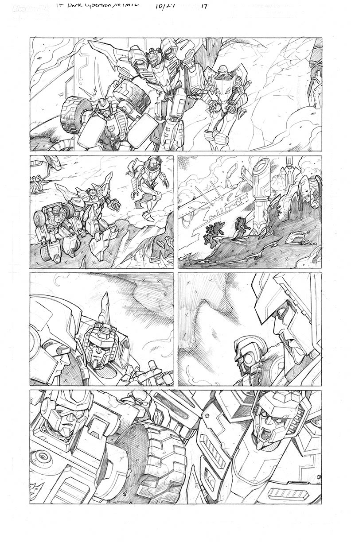 Dark Cybertron #10, Page 19<br />$150