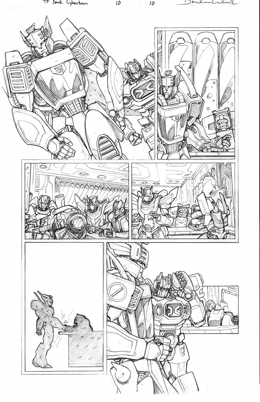 Dark Cybertron #10, Page 10<br />$150