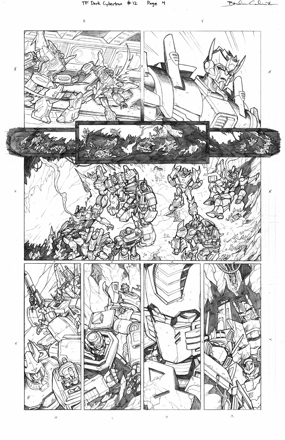 Transformers: Dark Cybertron #12, Page 4
