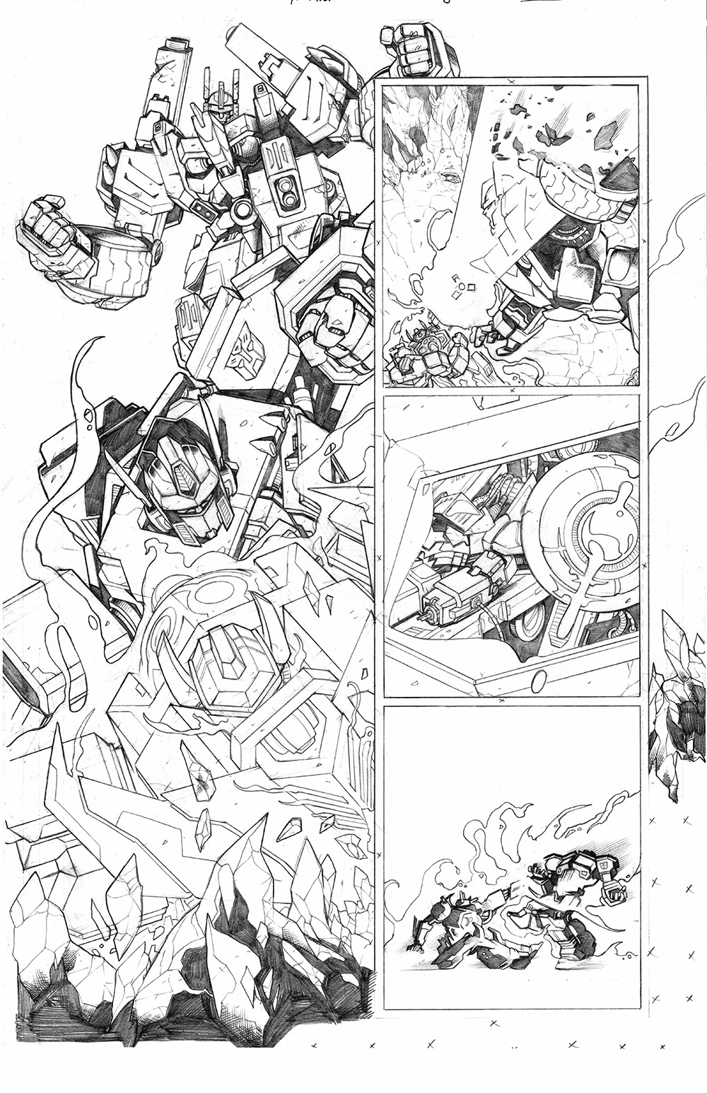 Transformers: Dark Cybertron #12, Page 6