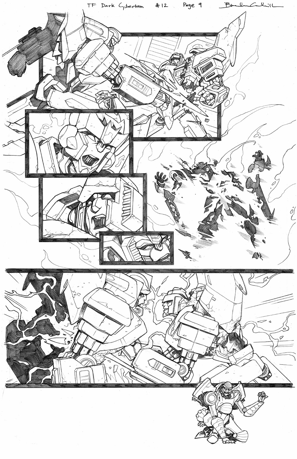Transformers: Dark Cybertron #12, Page 9