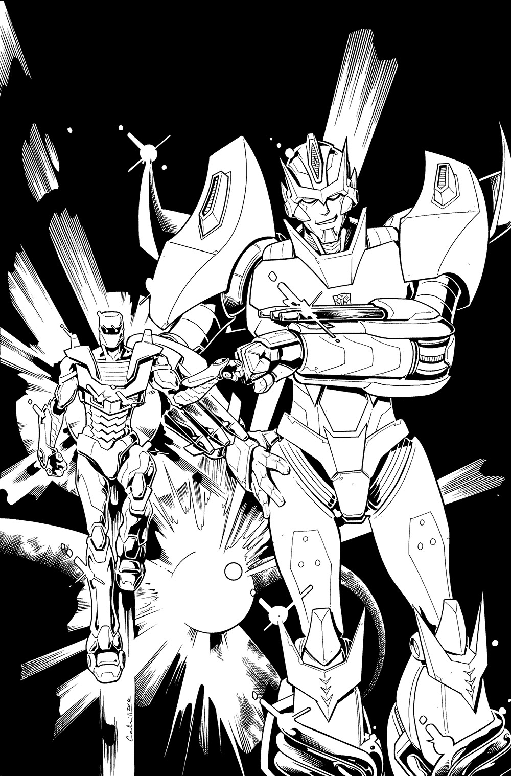 Transformers/Rom Crossover Cover